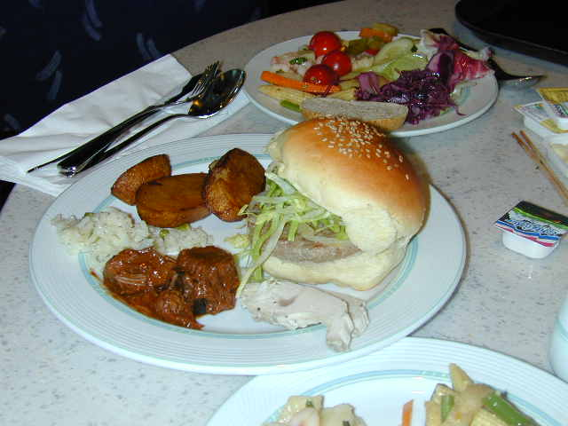 Passenger cruise reviews cruise ship pictures of food for Cruise ship with best food
