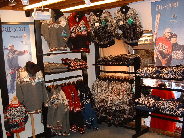 Pictures of Norwegian Sweaters - Our Cruise Ship Vacation