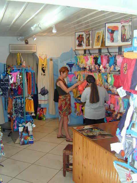 ... shopping for a bathing suit we did a little bit of shopping in mykonos