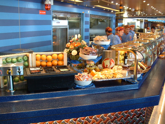 Pictures of cruise ship food oosterdam baltic cruise for Cruise ship with best food