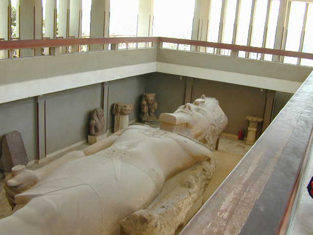 Statue of Ramses2 in Egypt